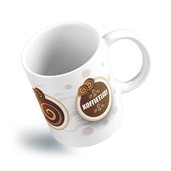 Koffietijd mok actie