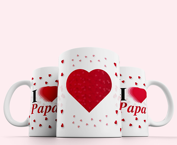 Prachtige i love papa mok om cadeau te geven