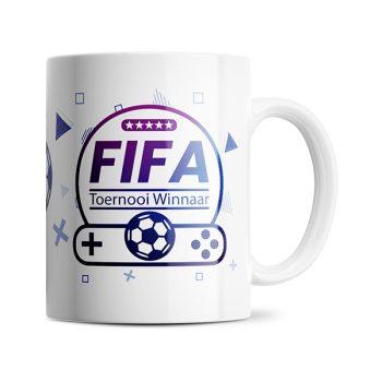 Fifa toernooi winnaar mok